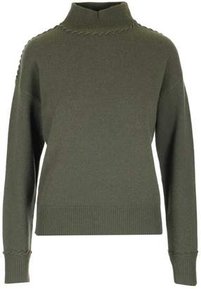 Theory Whipstitch Detail Turtleneck Sweater
