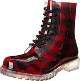 Chinese Laundry by Women's Roadie Plaid Rain Boot