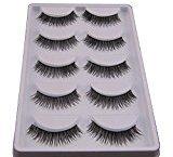Hot Sale!5 Pair False Eyelashes,Canserin Natural Look Voluminous Extension Makeup