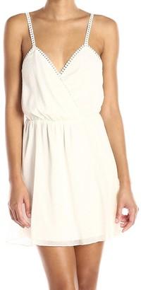 BCBGeneration Women's Strap Sweetheart-Neck Dress