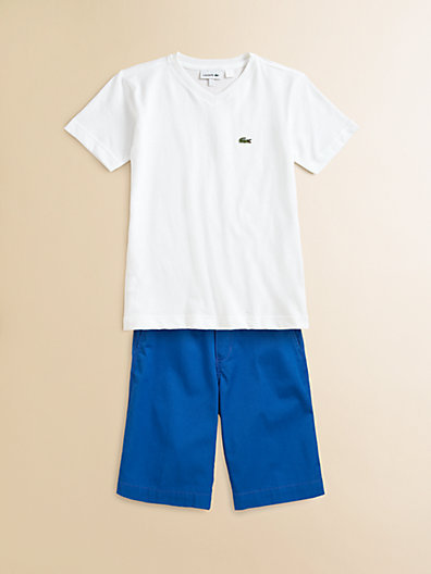 Lacoste Boy's Classic Jersey Tee