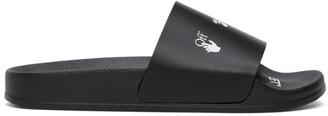 Off-White Black New Logo Pool Slides