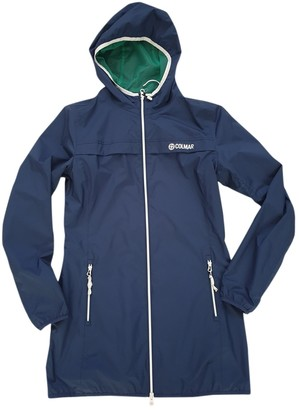Colmar Blue Trench Coat for Women
