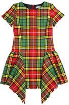Junior Gaultier Plaid Cotton Blend Flannel Dress