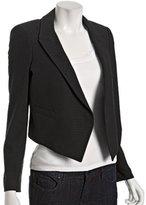black stretch cotton 'Calandra' jacket