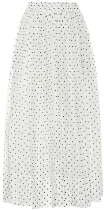 Alexandre Vauthier Polka-dot cotton skirt