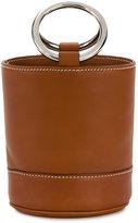 Simon Miller Mini Smooth Brown Bonsai 15 Bucket Bag - women - Leather/metal - One Size