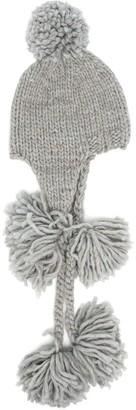 SuperDuper Hats Knitted Pompom Hat