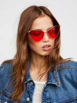 Free People Eyes On Me Sunglasses