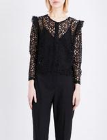 Claudie Pierlot Calling lace shirt