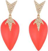 Alexis Bittar Crystal Encrusted Dangling Starburst Post Earring