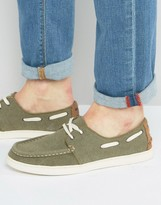 Toms Culver Canvas Boat Shoes