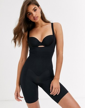Lindex Lana firm control shapewear bodysuit in black