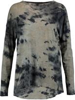Enza Costa Printed cotton-jersey top