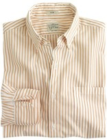 J.Crew Slim Secret Wash shirt in medium stripe