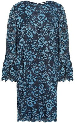 Ganni Flynn Lace Mini Dress