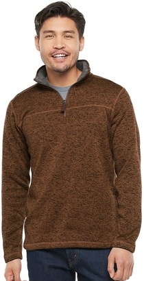 Men's Victory Outfitters Sherpa-Fleece Quarter-Zip Pullover