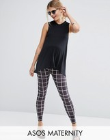 Asos Clean Grid Check Legging
