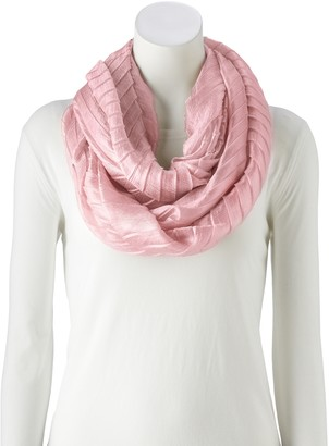 Apt. 9 Women's Solid Pleated Infinity Scarf