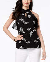 Thalia Sodi Embroidered Halter Top, Created for Macy's