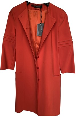 Patrizia Pepe Red Coat for Women