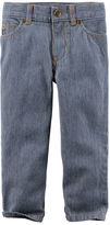 Carter's Hickory Stripe 5-Pocket Straight Jeans