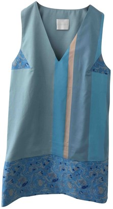 Richard Nicoll Blue Cotton Dress for Women