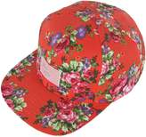 RaOn H99 Flower Pink Rose Lettering Cute Club HipHop Ball Cap Bill Snapback Flat Hat
