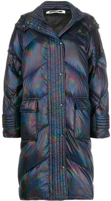 McQ holographic padded jacket