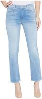 Hudson Zoeey Mid-Rise Crop Straight Five-Pocket Jeans in Aura Women's Jeans