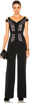 Peter Pilotto Cady Embroidered Jumpsuit