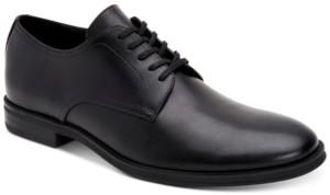 Calvin Klein Men's Wilbur Crust Leather Oxfords Men's Shoes