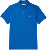 Lacoste Slim-Fit Cotton-Piqué Polo Shirt