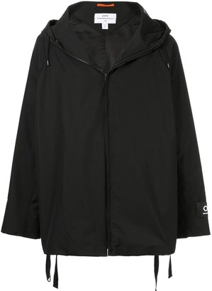 Oamc hooded zipped jacket