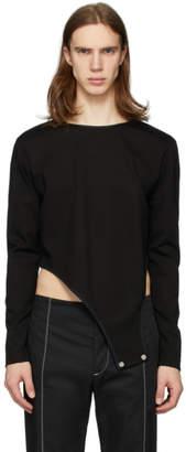 Daniel W. Fletcher Black Leotard Body Long Sleeve T-Shirt