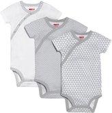 Skip Hop Petite Triangles Bodysuit Set (Baby) - Grey-6-9 Months