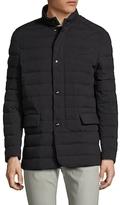 Allegri Techno Flannel Puffer Coat