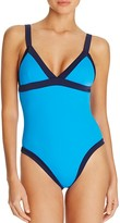 Milly Color-Block Maillot One-Piece Swimsuit
