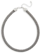 BP Women's Tube Crystal Necklace