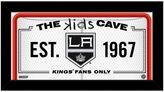 "Steiner Sports Los Angeles Kings 10"" x 20"" Kids Cave Sign"