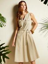 M&Co Linen blend shirt dress