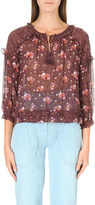 Ulla Johnson Raine floral-print silk blouse