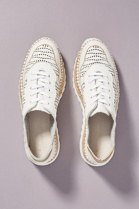 Anthropologie Sabrina Espadrille Sneakers By in White Size 36