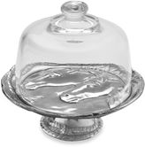 Arthur Court Horse 8-Inch Footed Plate with Glass Dome