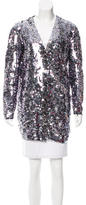 Dolce & Gabbana Sequined Wool Cardigan