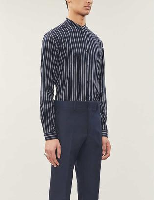 The Kooples Striped slim-fit cotton shirt