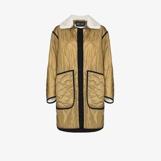 Marfa Stance The Reversible Colour Block Quilt coat