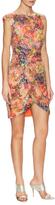 Nicole Miller Multicolored Sequin Twist Dress