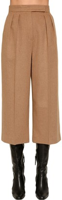 Max Mara Cropped Camel Pants