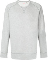 Levi's crew neck sweatshirt - men - Cotton/Spandex/Elastane - M